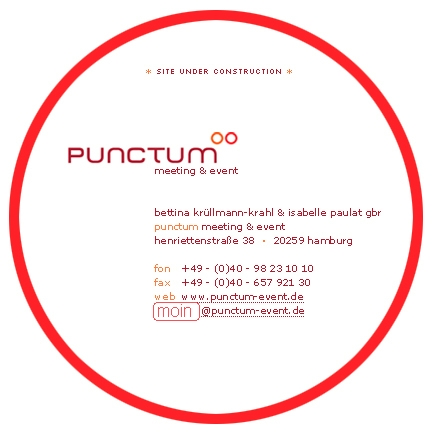 punctum meeting & event Site under cunstruction